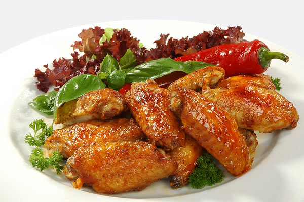 Spicy Chicken Wings Image ©Dyoma