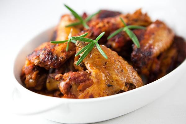 Roasted Chicken Wings Image ©barbaradudzinska