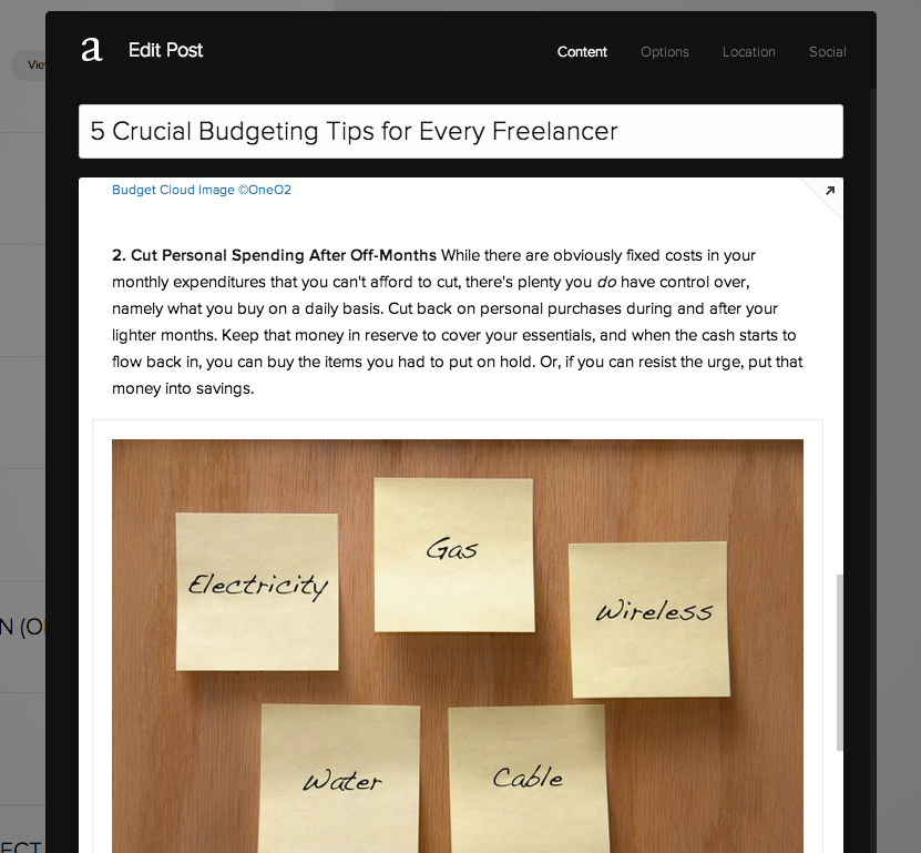 5 TIPS FOR BLOGGING ON SQUARESPACE - drag and drop blocks