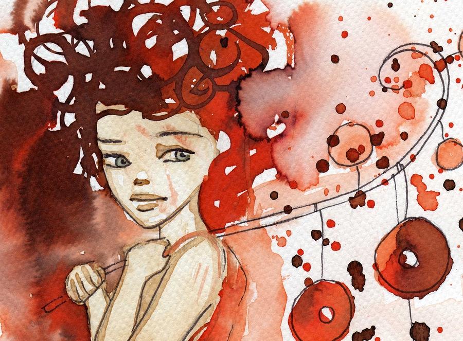 Watercolor illustration