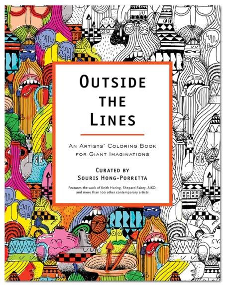 Outside The Lines by Souris Hong-Porretta  Cover design: Steve Harrington