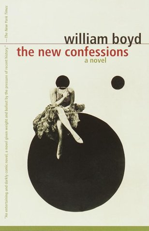 The New Confessions by William Boyd  Cover design: Megan Wilson