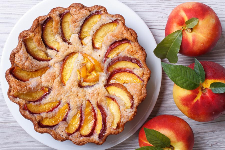 Peach Tart byFomaA