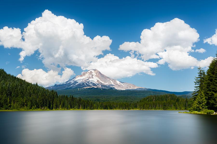 beboy   Mount Hood from Trillium Lake
