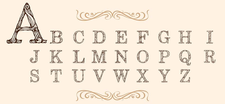 Alphabet set    NadiiaZ