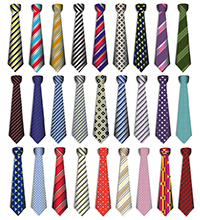 Bigstock Set of Male Business Ties for Father's Day