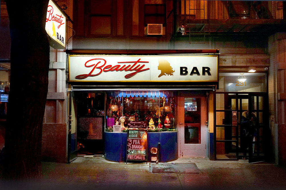 Beauty Bar, Sally Davies, 2015