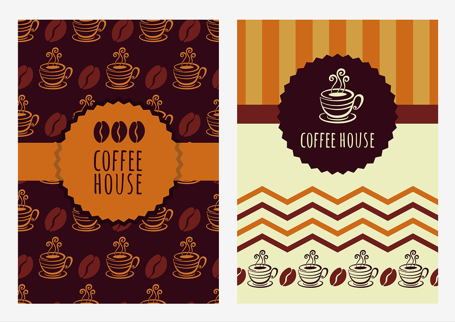 Vector element sets of coffee and coffee beans |  Betelgejze