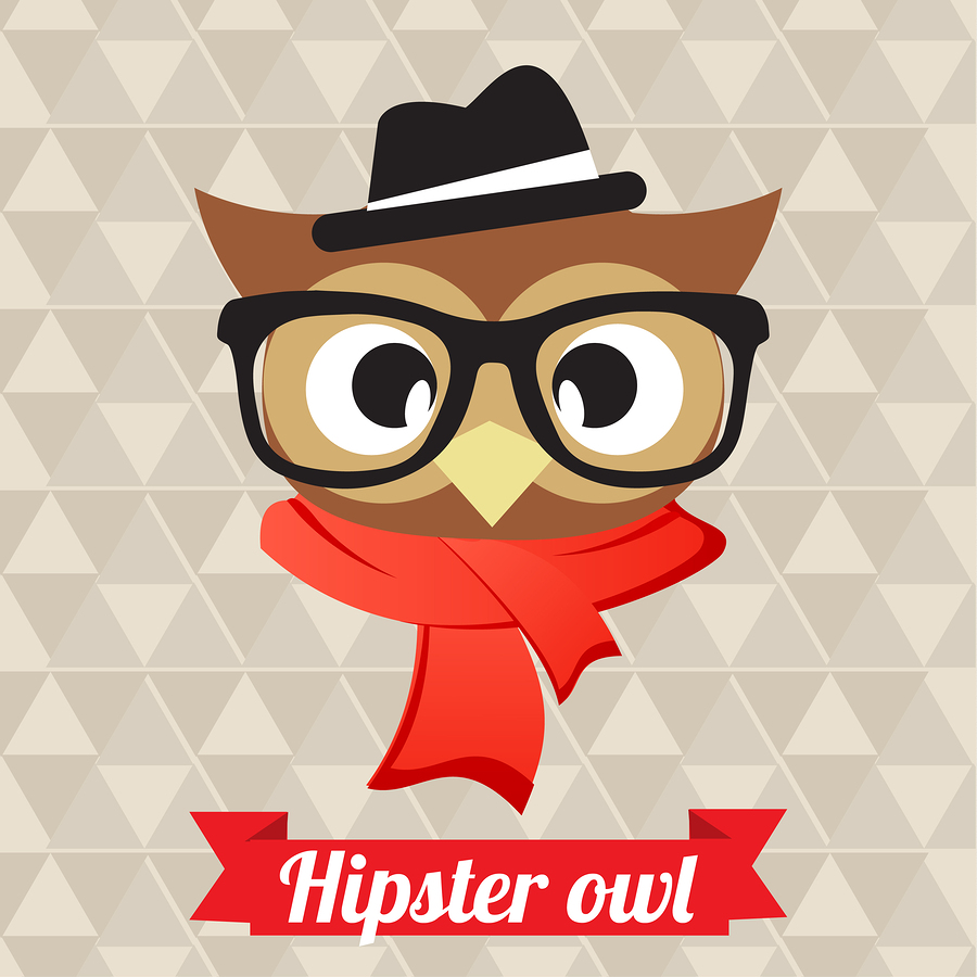 Hipster owlillustration by AcaG .