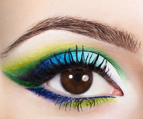 Woman With Eye Makeup ©Inga Ivanova