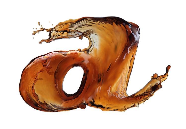 Soda Typography That Really Pops
