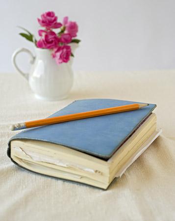 Sketchbook Notebook Stock Photo