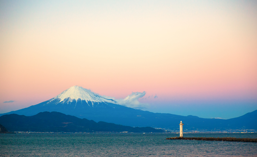 Mt. Fuji & Lighthouse