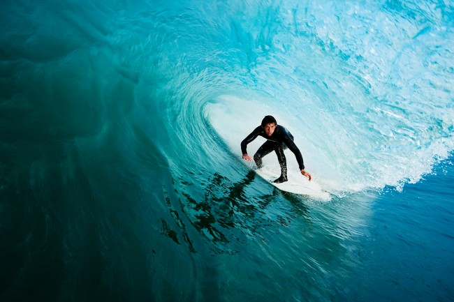 Surfer On Perfect Wave Image ©EpicStockMedia