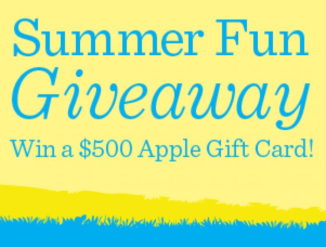 Screen Shot Summer Fun Giveaway