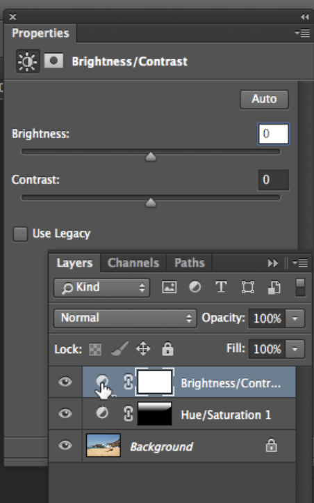 How to Use Photoshop Adjustment Layers to Darken Part of an Image