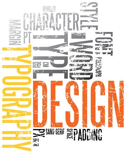 Grunge Typography Background