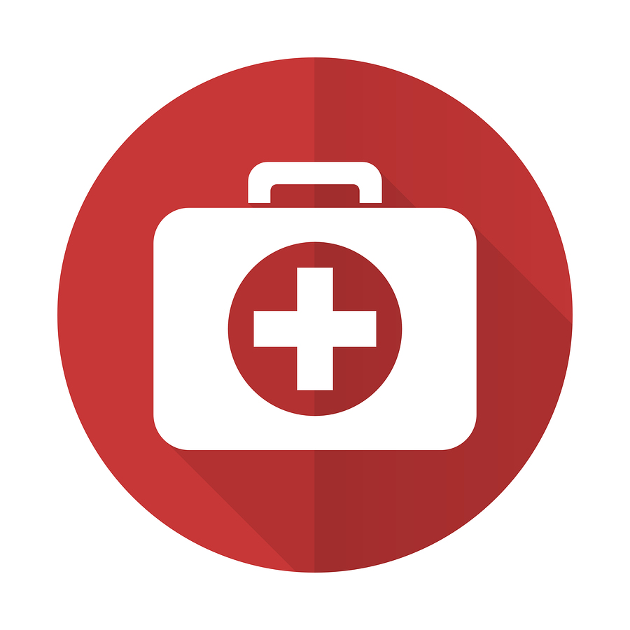 First aid flat icon |  AlexWhite