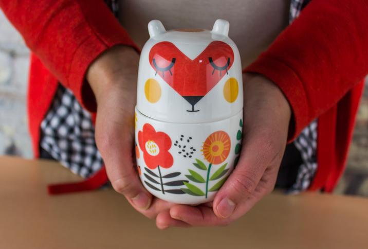 Photo of Prada's pottery.