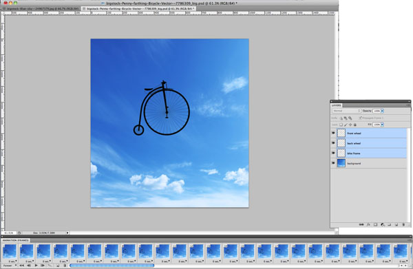 Creating Simple Animated Gifs in photoshop: part 2