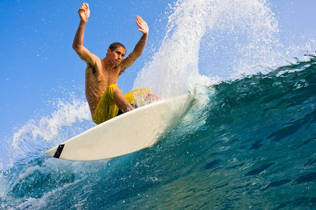 Surfer & Spray Image ©EpicStockMedia