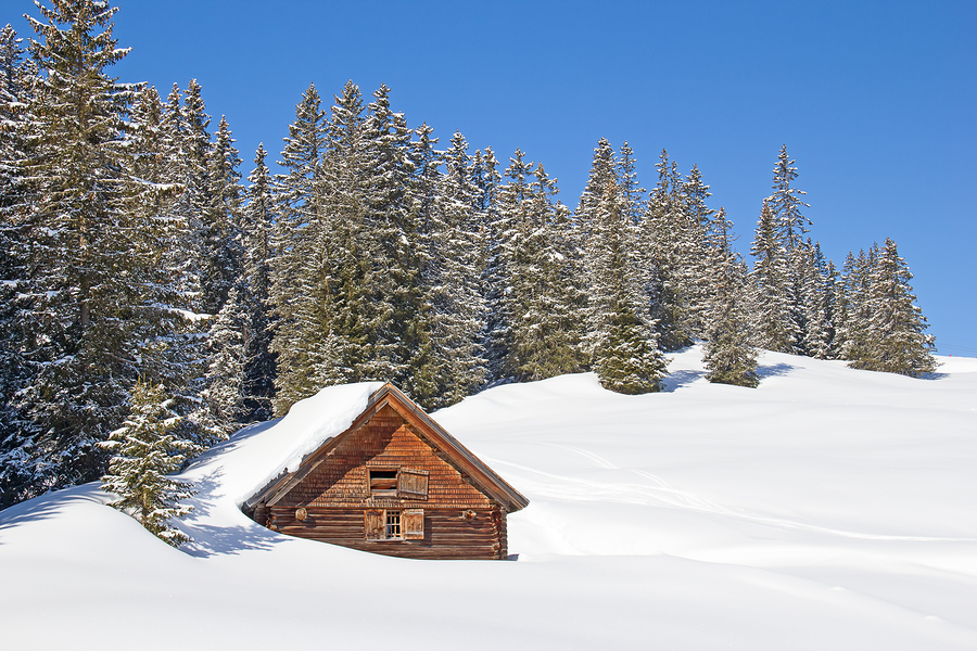 Stock photo of a winter in the Alps, from Bigstock.