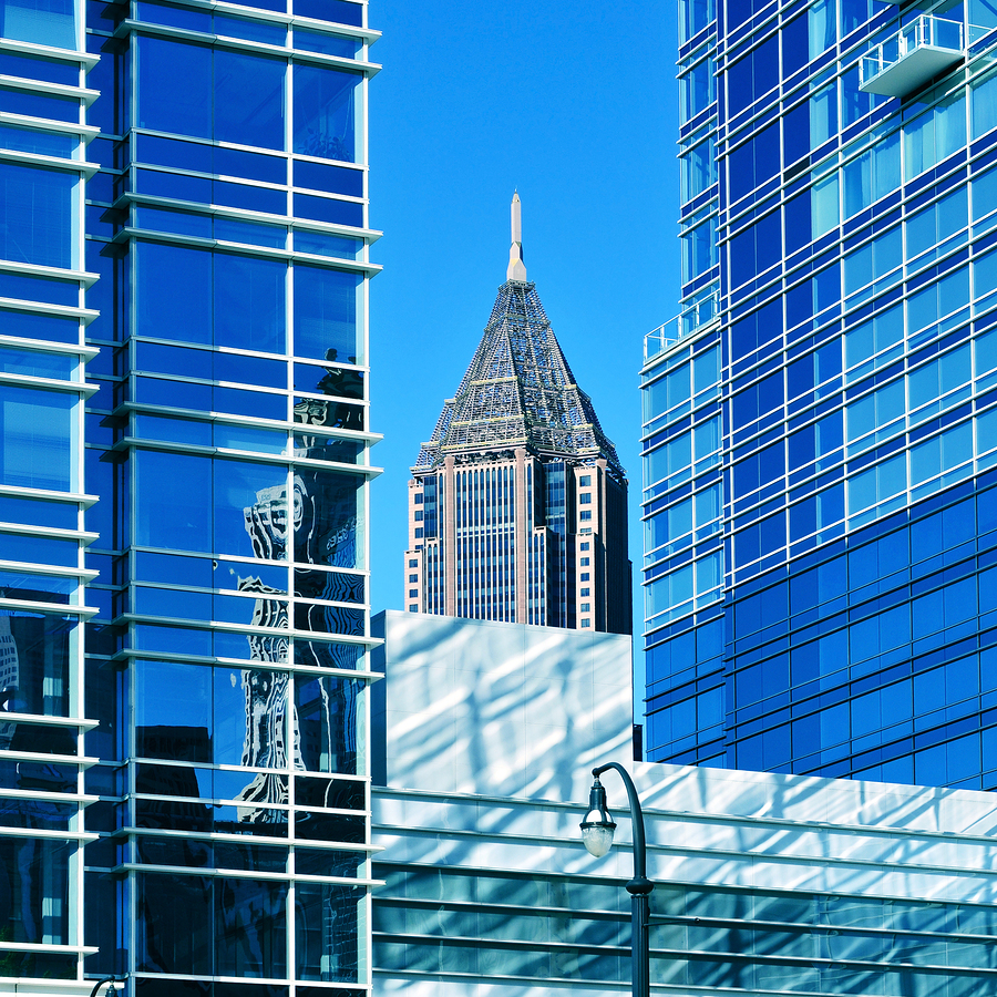 Bank of America Plaza  by nito