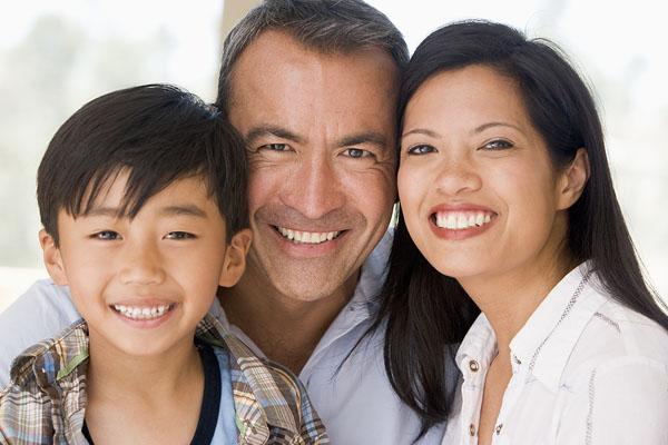Family Together Smiling @MonkeyBusinessImages