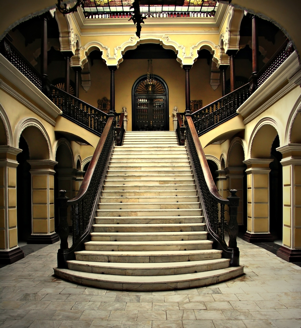 Colonial staircase at Archbishops Palace  | Neale Cousland