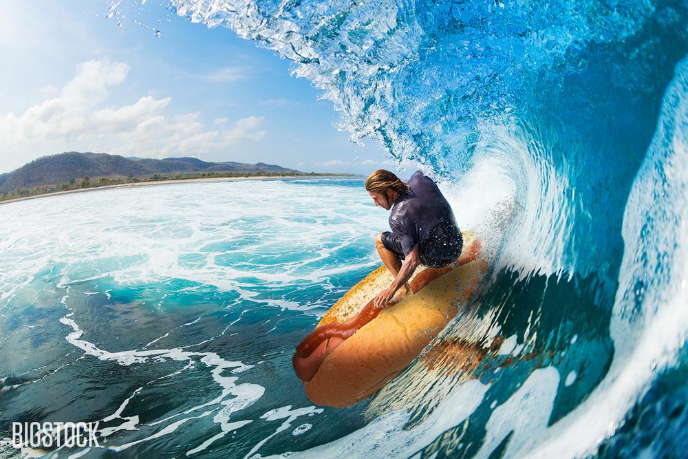 A Bun Track Mind: Loving the Hot - surfer