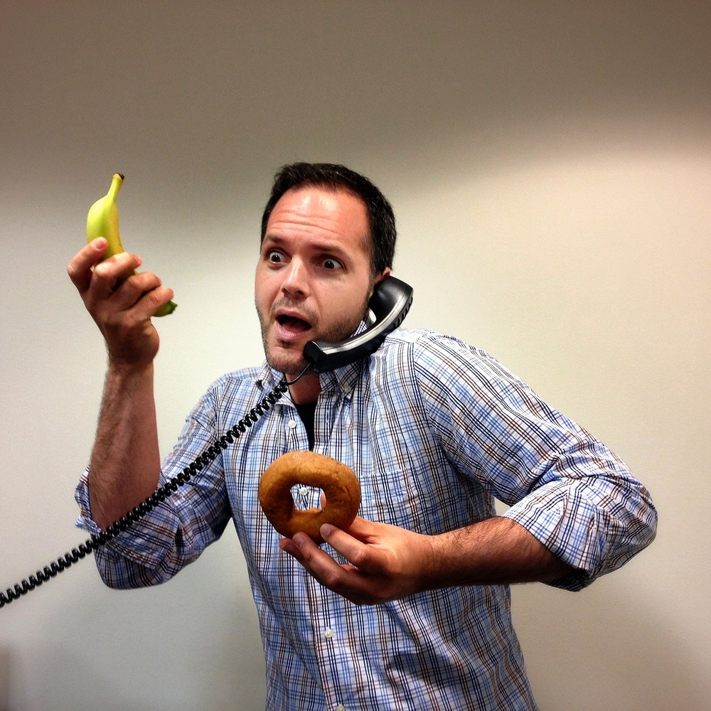 Photo of Donut Brian. House of Carbs: Bigstock Struggles with National Donut Day